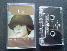 RARE U2 THE BEST OF 1980-1990 CASSETTE TAPE INDONESIA LIKE NEW