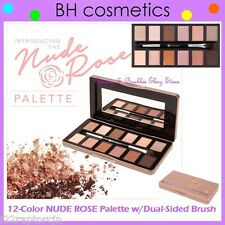 NEW BH Cosmetics 12-Color NUDE ROSE Eye Shadow Palette w/Brush - FREE SHIPPING