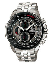 Casio Edifice Chronograph Men's Watch EF-558D-1AVEF Black Face Boxed Brand NEW