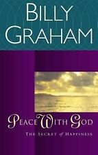 Peace with God : The Secret Happiness by Billy Graham (2000, Paperback, Revised)