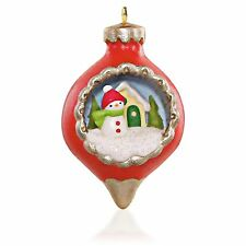 """2015 Hallmark """"A World Within"""" Miniature Ornament - 1st In The A World Within"""