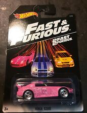 HOT WHEELS HONDA S2000 Pink Fast and Furious Super CUSTOM with Real Riders