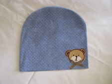 boys beanie teddy bear blue size 1 12 months