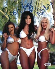 Chyna Lita Debra McMichael Signed 8x10 Photo PSA/DNA WWE Diva Picture Autograph