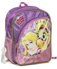 DISNEY Princess PALACE PETS Large Luxury Backpack School Travel Girls Bag