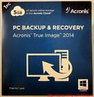 Acronis PC Backup & Recovery True Image 2014 5GB of Cloud Storage in Retail Pack