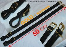 50 cm Oro estensione per fisarmonica CINTURE, CINGHIE, Extension for Accordion straps