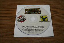 BIG BUCK HUNTER OPEN SEASON RAW THRILLS  RECOVERY DISK DVD SET V1.50
