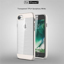 High Quality 2 in 1 Shockproof Plating Series TPU+PC Case Cover For iPhone7/plus