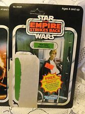 Vintage 1980 Kenner Star Wars Hans Solo Bespin Outfit  Back Card Only