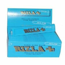 Rizla Blue King Size Slim Cigarette Rolling Papers 05 Booklets of Finest Quality