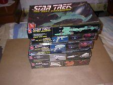 Lot of 5 Sealed AMT Star Trek Models U.S.S. Enterprise Starship Klingon Annv Kit