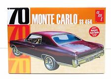 1970 Chevy Monte Carlo SS 454 AMT 928 1/25 Plastic Car Model Kit