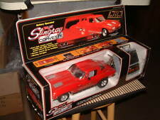 1963 CORVETTE STINGRAY WITH TEATHERED REMOTE CONTROL. MADE IN 1986 BY NEW BRIGHT