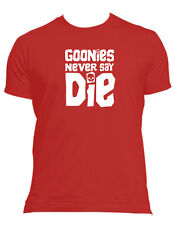 Goonies never say die 80's retro new  t-shirt Male, Female all sizes & colours