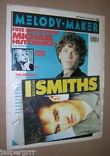MELODY MAKER MUSIC MAGAZINE. COMPLETE WITH FREE SMITHS BOOKLET ATTACHED. 1989.