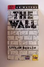 Roger Waters The Wall-Live in Berlin VHS Video Tape
