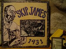 SKIP JAMES 1931 Sessions LP/Delta Blues 78s/OOP Mississippi Records edition/NEW!