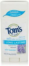 Tom's of Maine Natural Long-Lasting Deodorant Stick Lavender 2.25 oz Each