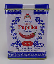 Hungarian Paprika Sweet Kalocsai Paprika 50g / 1.8 oz. Tin + FREE wooden scoop