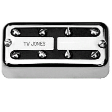 TV JONES THUNDER'TRON CHROME BRIDGE BASS PICKUP