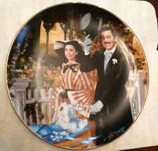 Strolling In Atlanta Gone With The Wind Series Bradford Collectible Plate