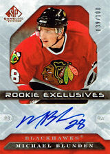 06-07 SP Game Used ROOKIE Exclusives AUTO xx/100 Made! Michael BLUNDEN