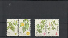 Christmas Island Australia 2013 MNH Shrubs 4v Set Plants Colubrina Abutilon