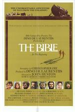 THE BIBLE Movie POSTER 27x40 B Michael Parks Ulla Bergryd Richard Harris Stephen