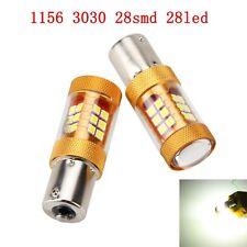 2Pcs 12V 24V S25 P21W 1141 1095 1073 1156 BA15S 3030 28 SMD LED Turn Signal Bulb