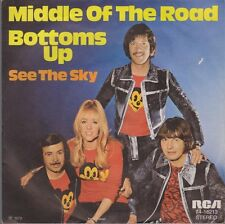 """7"""" Single Middle Of The Road Bottoms Up / See The Sky 70`s RCA 74-16 213"""
