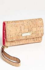 ❤️ KATE SPADE New York  ❤️ Summer Cork iPhone 5 & 5s Wristlet-Clutch-Case-NWOT