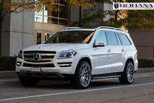 22x10.5 +40 Rohana RC10 5x112 Silver Wheels Fit Mercedes Benz GL450 2014 Concave