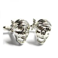 Pirate Skulls Wearing Bandana Cufflinks Heavy Rock Cruise Present Gift Box