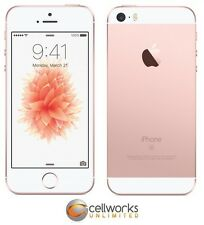 New Apple iPhone SE ( Factory Unlocked ) - 16GB - Rose Gold - 4G LTE CLEAN IMEI