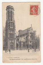 *** Paris - Les Eglises de Paris - Saint-Germain-l'Auxerrois *** 1911 - CPA 0835