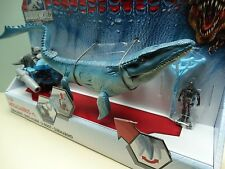 Jurassic World Mosasaurus vs Submarine Figure Set Playset Park IN HAND BNIB
