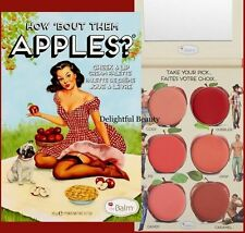 the Balm HOW 'BOUT THEM APPLES? Lip and Cheek Cream Palette ~ DELIGHTFUL BEAUTY