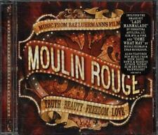 Moulin Rouge Ost - David Bowie/Aguilera/Pink/Bono/U2/Beck/Massive Attack Cd EX