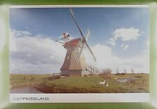 CPA Germany Ostfriesland Rheiderland Windmühle Windmill Moulin Mill Molin w293
