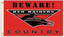 Texas Tech Red Raiders BEWARE COUNTRY 3x5 Flag w/grommets Banner University of