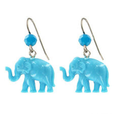 "NEW Tarina Tarantino Blue ""WANDERFUL TINY CARAVAN"" Earrings - SALE"
