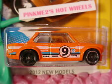 2012 #21 NM Hot Wheels '02 BMW 2002 ❀Orange; 9 ❀w/Factory Wheel ERROR❀New Models