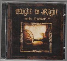 MIGHT IS RIGHT - nordic warchants II CD