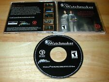 The Watchmaker PC CD-ROM Adventure Game Trecision 2002 for Windows 95/98/Me2k/XP