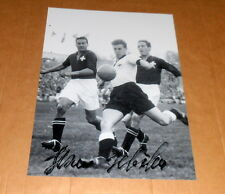 Hans Schäfer*WM Worldchampion 1954 Germany* original signiertes Foto 20x25 cm