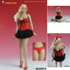 (CLOTH) 1/6 SUPER DUCK 1/6 C007 Sexy Clothes Set (not Hot Toys)