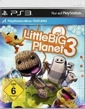 Playstation 3 Little big planet 3 complet allemand OVP article neuf nouveau