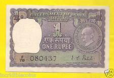 1 Rupee IG Patel 1969 Mahatma Gandhi Co Memorative Issue Gem Crisp UNC
