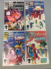 MEPHISTO VS FANTASTIC SOUR COMPLETE RUN SET #1 2 3 4  FF AVENGERS X-MEN